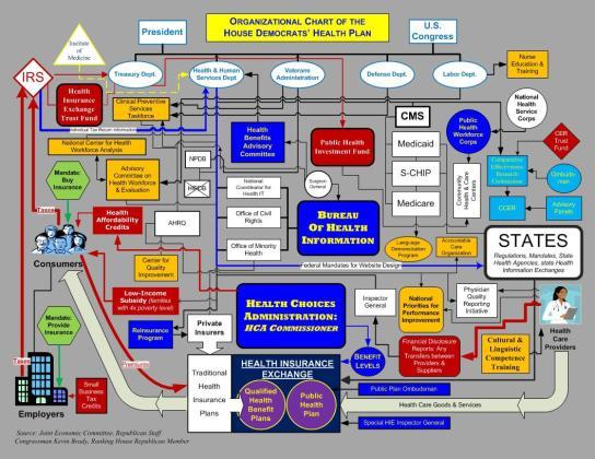 health-care-plan-organizational-chart
