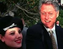 Lewinsky and Clinton